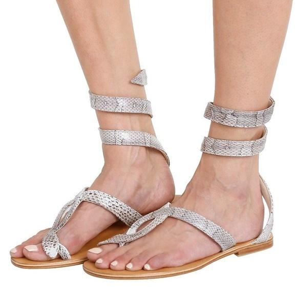 6f7d902de l space Shoes - L Space by Cocobelle NEW Snake Wrap Sandal